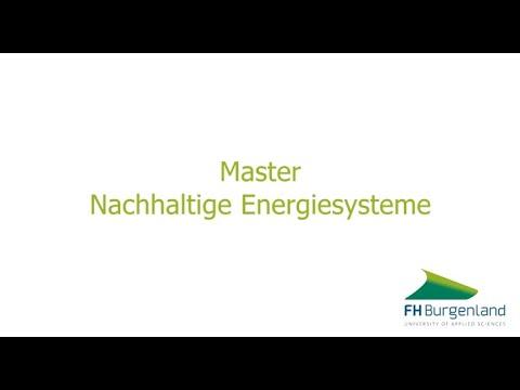 Nachhaltige Energiesysteme   