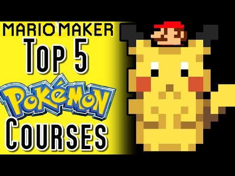 Thumbnail: Super Mario Maker Top 5 POKEMON GO Courses (Wii U)