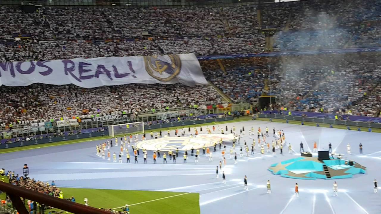 2016 UCL final ceremony - YouTube