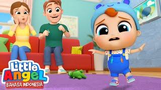 Lihat, Baby John Belajar Berjalan! | Kartun Anak | Little Angel Bahasa Indonesia