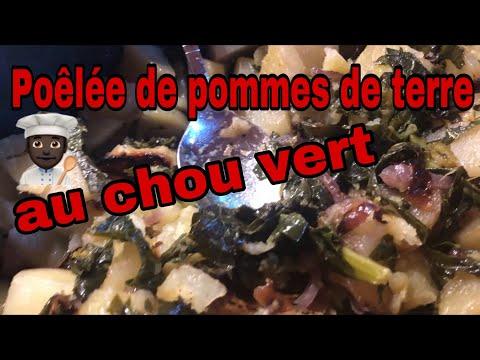 poêlée-de-pommes-de-terre-au-chou-vert