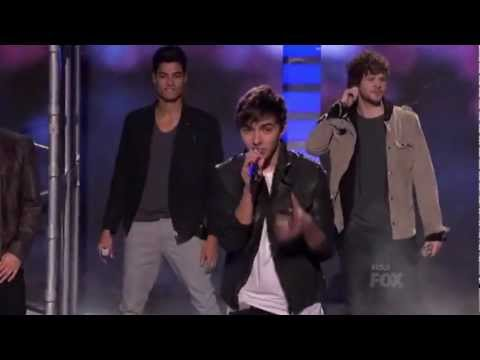 The Wanted - Glad You Came - American Idol 2012 (Live Results Show 6)