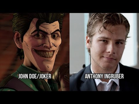 Characters and Voice Actors  Batman: The Enemy Within