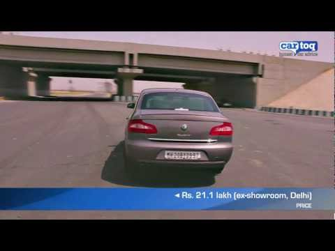 Skoda Superb 1.8 TSI DSG Video Review - Luxury cars in India reviewed by CarToq.com