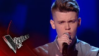 Jamie Miller performs 'Let It Go': Blind Auditions 2 | The Voice UK 2017