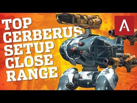 War Robots - Top Cerberus Setup For Close Range Fighting (my opinion) | WR Max Gameplay