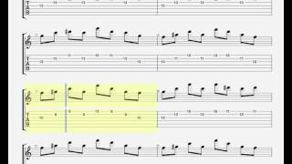 Bliss by Muse -GUITAR TAB- intro