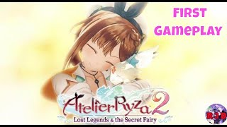 Atelier Ryza 2: Lost Legends & the Secret Fairy ~ First English Gameplay Walkthrough | PS5 / PS4 Pro