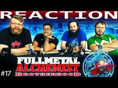 """Fullmetal Alchemist: Brotherhood Episode 17 REACTION!! """"Cold Flame"""""""