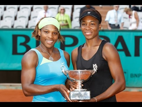 Serena/Venus vs Srebotnik/Peschke 2010 RG Highlights
