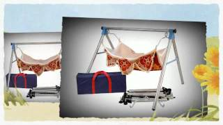 Ghodiyu In Action..baby Hammock,baby Cradle, Steel Ghodiyu, Folding Baby Hammock