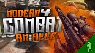 [RL] Ansage AN ALLE! - Modern Combat 4 Sniper Gameplay | DuesiBS [German/Deutsch HD iOS Android]