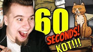 KOT! ZWROTY AKCJI! NAJLEPSZY ODCINEK! (60 Seconds #30)