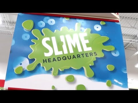 WE VISITED SLIME HEADQUARTERS!