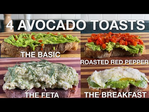 4 Avocado Toasts – You Suck at Cooking (episode 106)