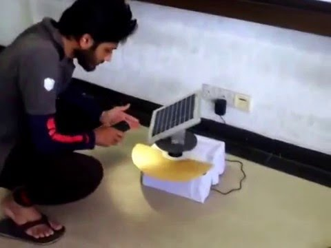 Automatic Sun Tracking Solar System EEE project