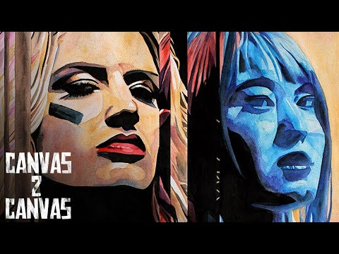 TONI STORM & IO SHIRAI's Mae Young Classic Finals Match is immortalized: WWE Canvas 2 Canvas