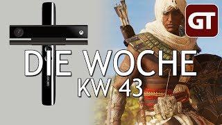 Thumbnail für Der Mega-Release-Tag 2017 & Kinect ist tot – Die Woche KW 43 – GT-Talk #65