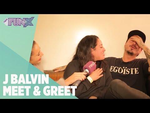 J Balvin maakt grootste fan dolgelukkig bij Meet & Greet