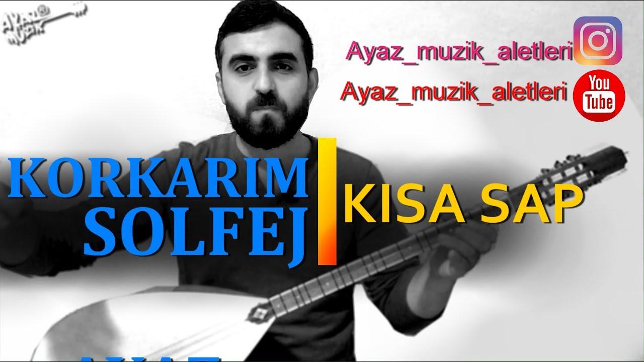 Doruklara Sevdalandım - Ahmet Kaya (bağlama)   Saz Kursu Solfej