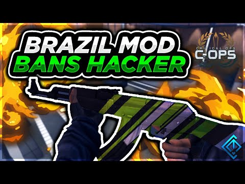 Critical Ops Ranked - Brazilian Mod Bans Hacker During Ranked!
