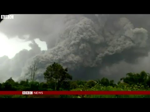 Volcano erupts in Indonesia killing seven people