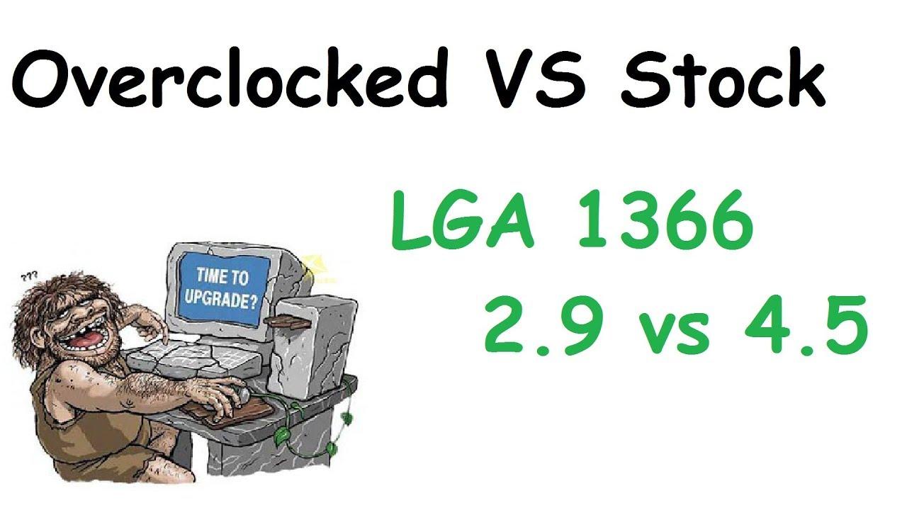 OC vs STOCK Xeon x5650 + gtx 1060 No comments
