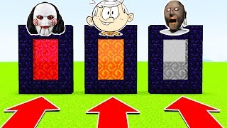 DO NOT CHOOSE THE WRONG PORTAL (GRANNY, LOUDHOUSE, JIGSAW) (Ps3/Xbox360/PS4/XboxOne/PE/MCPE)