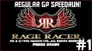 Rage Racer Reg GP Speed Run 2017: PS1 EMU 1:36:39