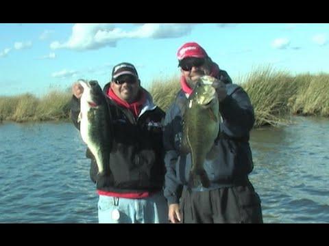 California Delta Bass Fishing with Dave Rush & Vince Hurtado