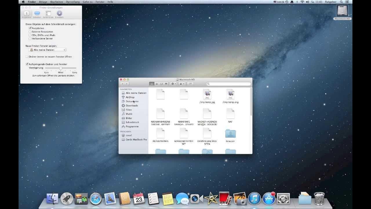 apple mac f r anf nger schreibtisch einrichten bersicht. Black Bedroom Furniture Sets. Home Design Ideas