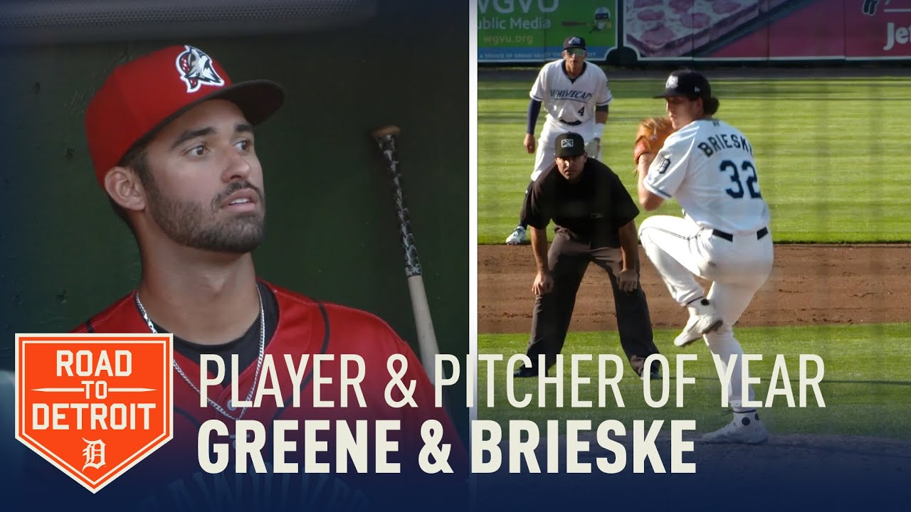 Riley Greene & Beaue Brieske named Tigers Minor League Player and Pitcher of the Year