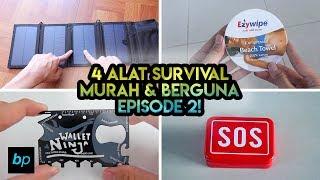 4 ALAT SURVIVAL/CAMPING MURAH & BERGUNA + PENGUMUMAN GIVEAWAY Unboxing & Review INDONESIA BUKAPAKET