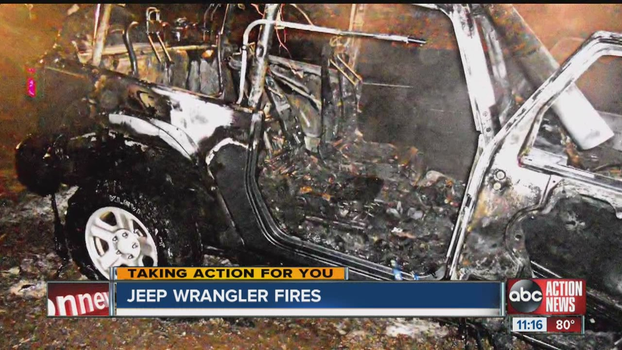 I Team Mystery Surrounds Jeep Wrangler Fires