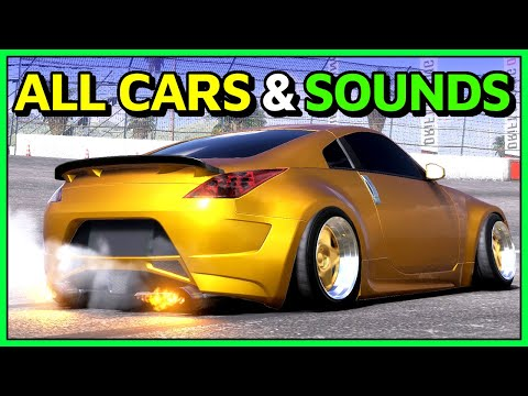 All Cars And Sounds In CarX Drift Racing Online