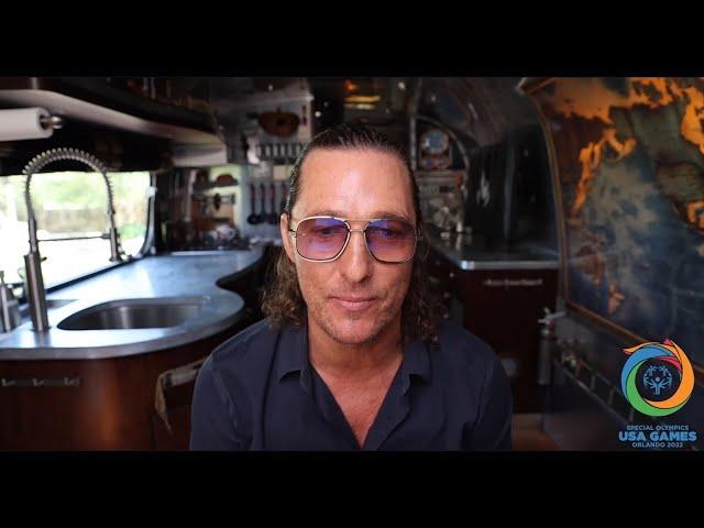 Matthew McConaughey & Special Olympics TX - Reactions