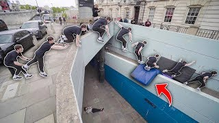 We Took Crashmats To London So We Could Do Impossible Jumps… 🇬🇧