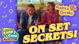On the Set Scoop | Ruby's Gems | Disney Channel