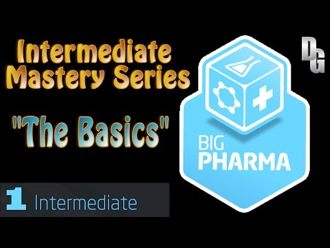 Big Pharma ► Episode 01 ► Gameplay Tutorial - Intermediate M