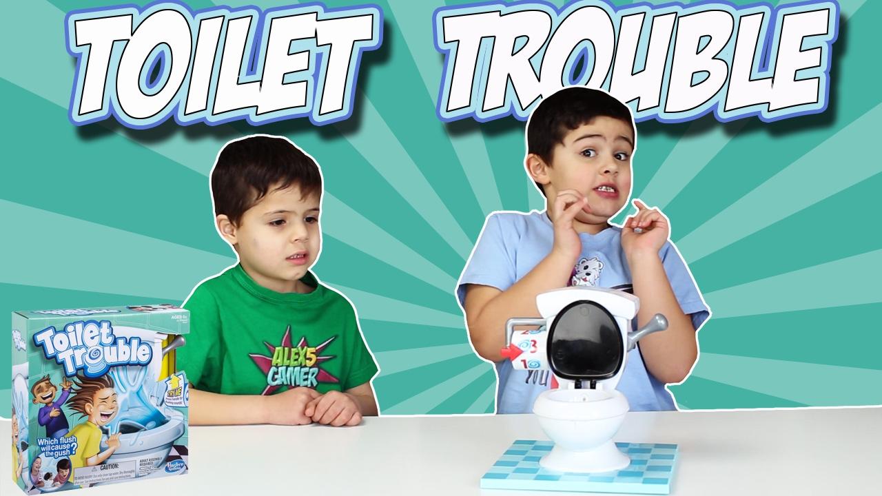 Toilet Trouble Challenge El Vater Loco Youtube
