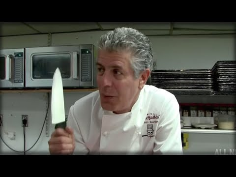 Breaking Top Chef Anthony Bourdain Just Threatened To Kill President Trump In A Most Sickening Way Duration  Seconds