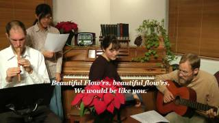 Beautiful Flowers - written by F. E. Belden<
