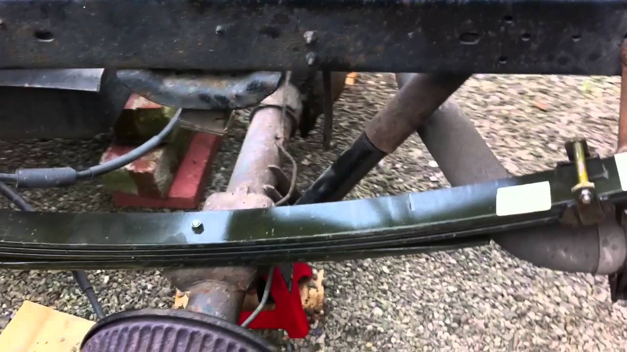 Max S Leaf Spring Job Youtube