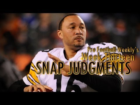 Charlie Batch leads Pittsburgh Steelers in win over Baltimore Ravens