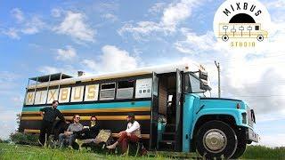 Mixbus Studio | Julien Gris | L'Amour à l'Américaine | L'arrêt de Bus 36