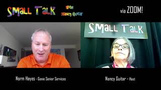 """SMALL TALK with Nancy Guitar:  """"Norm Hayes"""", Season 6, Episode 19"""