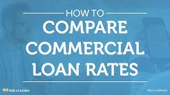 How to Compare Commercial Loan Rates | Ask a Lender
