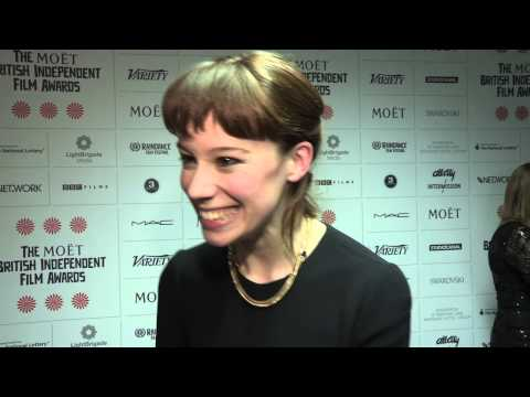 Chloe Pirrie  Shell  BIFA Most Promising Newcomer Award Winner