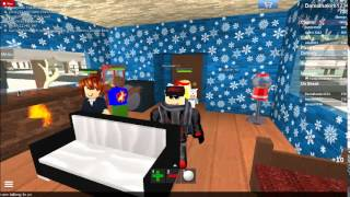 ROBLOX work at pizza place PARTY