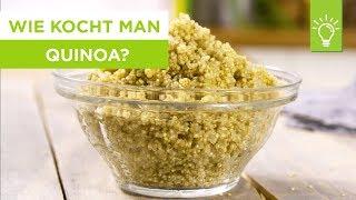 Wie kocht man Quinoa?   Quinoa Rezepte   Tipps zum Kochen